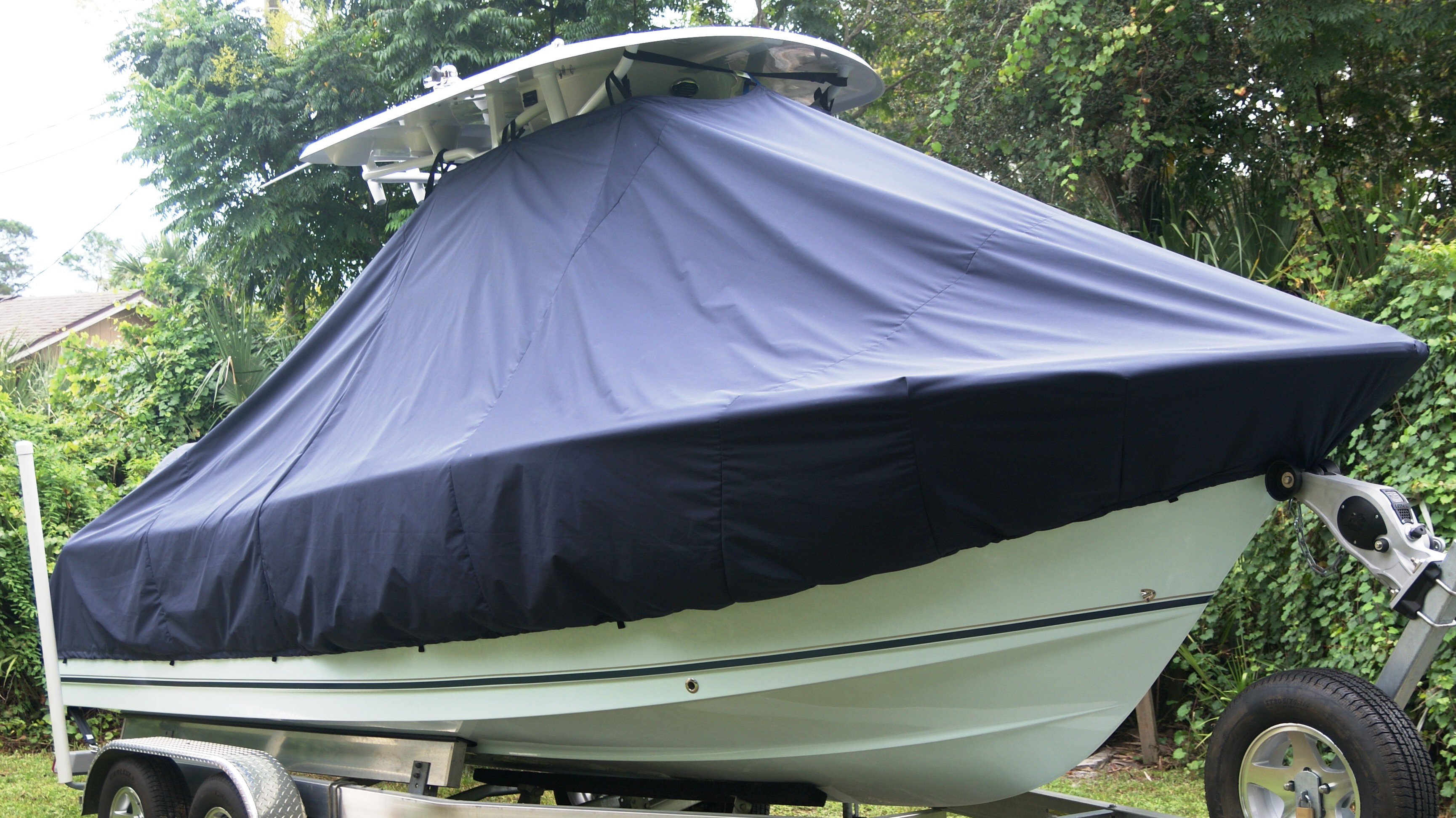 Sea Hunt Ultra 235, 20xx, TTopCovers™ T-Top boat cover, starboard front