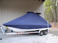 TTopCovers™ Sea Hunt, XP21, 20xx, T-Top Boat Cover, port front