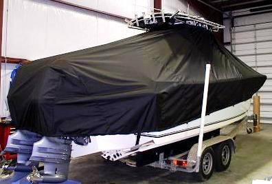 Sea King 23CC, 20xx, TTopCovers™ T-Top boat cover, starboard rear