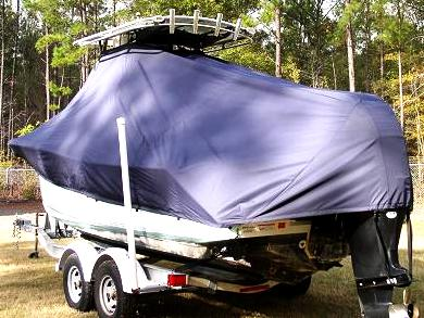 Sea Pro 228CC, 20xx, TTopCovers™ T-Top boat cover Rear 487