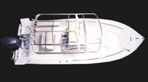 2004 Sea-Pro® 238WA, Floorplan with Factory OEM (EMC) T-Top Frame
