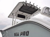 Sea-Pro Factory OEM (EMC) Hard-T-Top and Gear-Net
