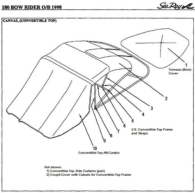 1998 sea ray 180 bowrider owners manual