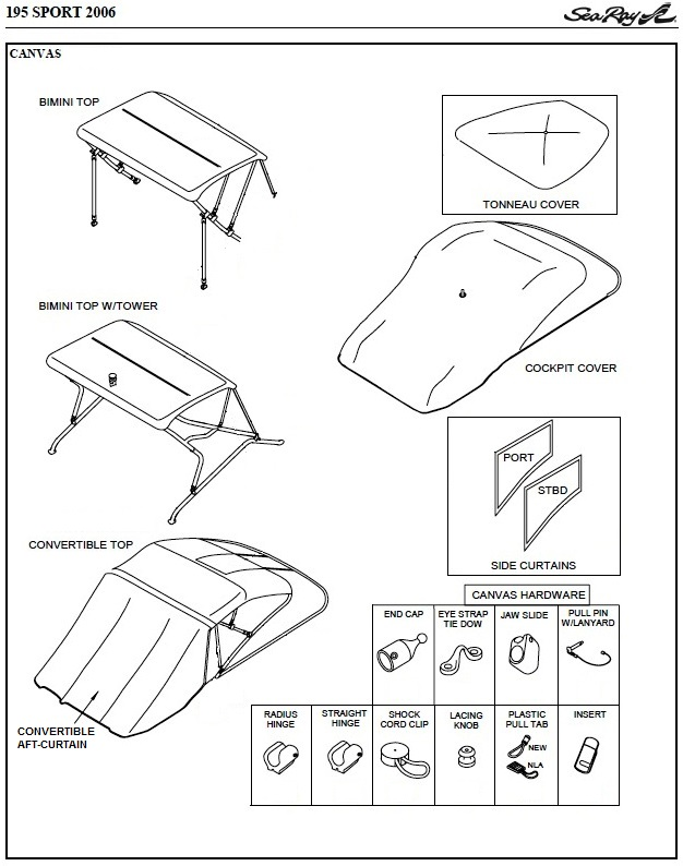 boat convertible bimini top diagram  catalog  auto parts