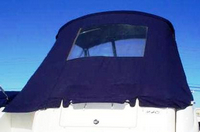 Bimini-Aft-Curtain-OEM-G0.5™Factory Bimini AFT CURTAIN (slanted to Transom area, not vertical) with Eisenglass window(s) for Bimini-Top (not included), OEM (Original Equipment Manufacturer)
