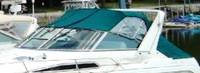 Convertible-Side-Curtains-OEM-G1™Pair Factory Convertible SIDE CURTAINS (Port and Starboard sides) with Eisenglass window(s) zip onto OEM Convertible-Top Canvas (no t included) at top, Snaps to Windshield frame or Boat at bottom, OEM (Original Equipment Manufacturer)