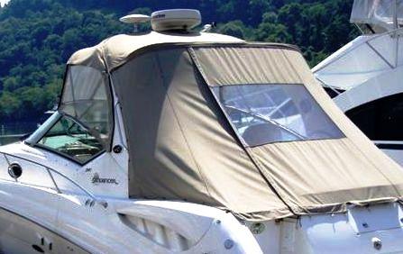 Sunshade Top Canvas, SeaMark® fabric (Factory OEM) for Sea Ray® 340 ...