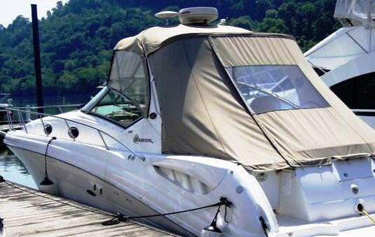 Sunshade Top Enclosure Curtains (Factory OEM) for Sea Ray