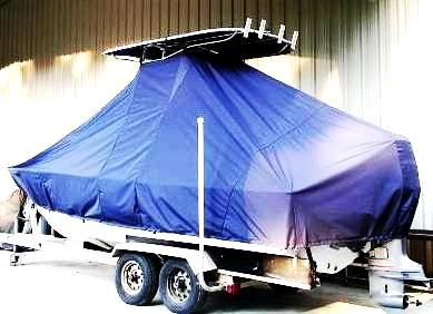 SeaCraft, 20CC, 20xx, TTopCovers™ T-Top boat cover, port rear