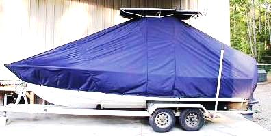 SeaCraft, 20CC, 20xx, TTopCovers™ T-Top boat cover, port side