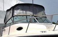 SeaSwirl, Striper 2101WA, 2013, Bimini Top, Connector, Side Curtains, stbd front