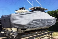 TTopCover™ SeaVee, 340, 20xx, T-Top Boat Cover, stbd rear