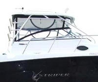 Seaswirl, Striper 2901WA, 2007, Hard Top, Connector, Side Curtains, Aft Drop Curtain, port rear