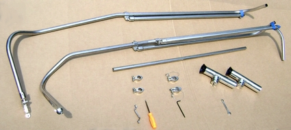 Shadow™ Top Parts, Tools and Optional Rod Holders Picture
