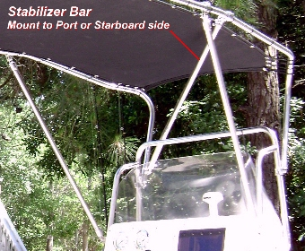 Picture of Shadow™ Stabilizer Bar, from Rear