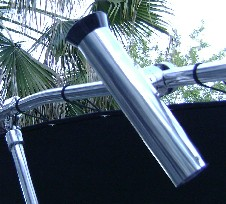 Picture of Shadow™ T-Top Stainless Steel Side Rod Holders