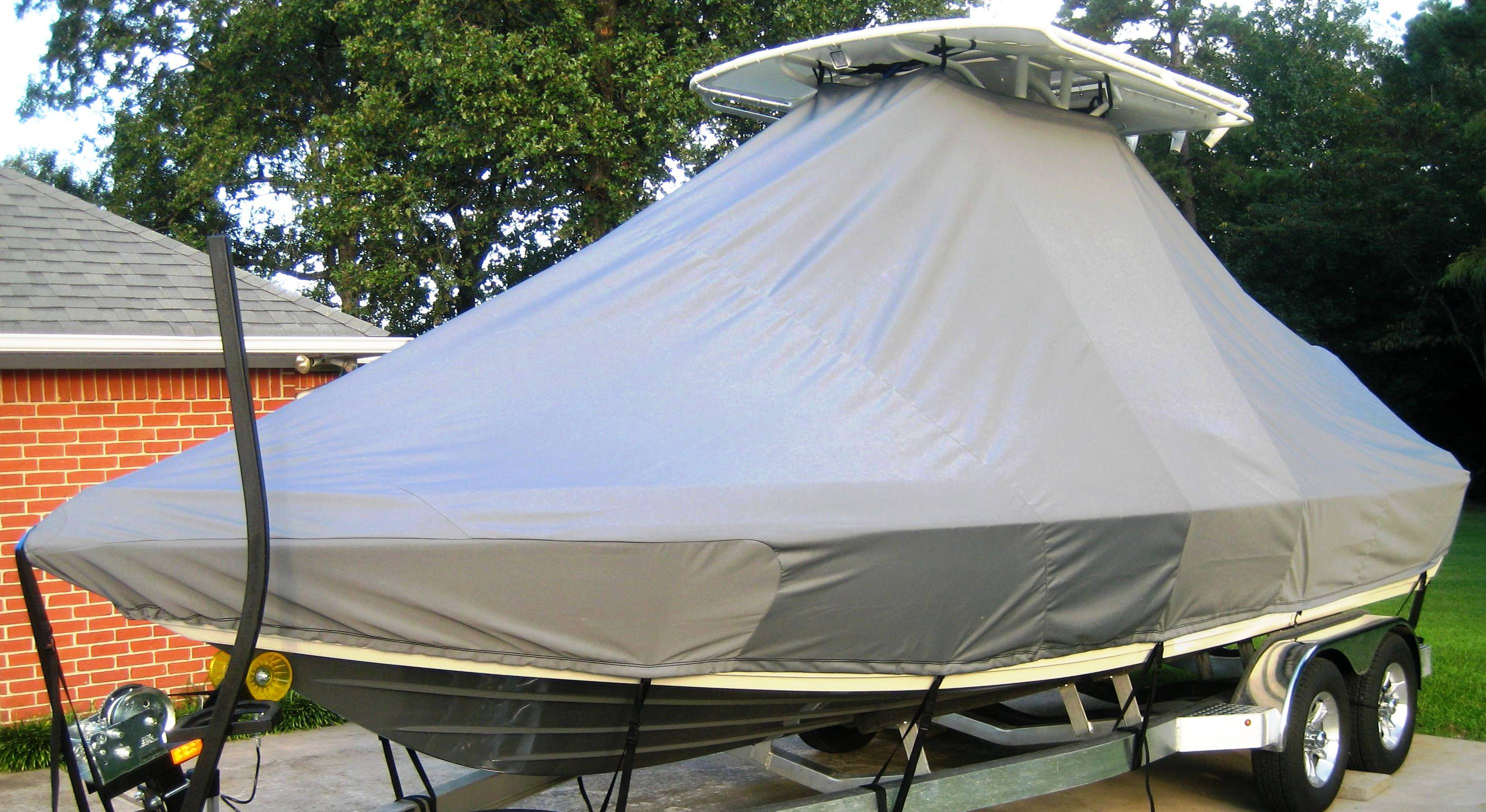 Skeeter SX 2250, 19xx, TTopCovers™ T-Top boat cover, starboard front