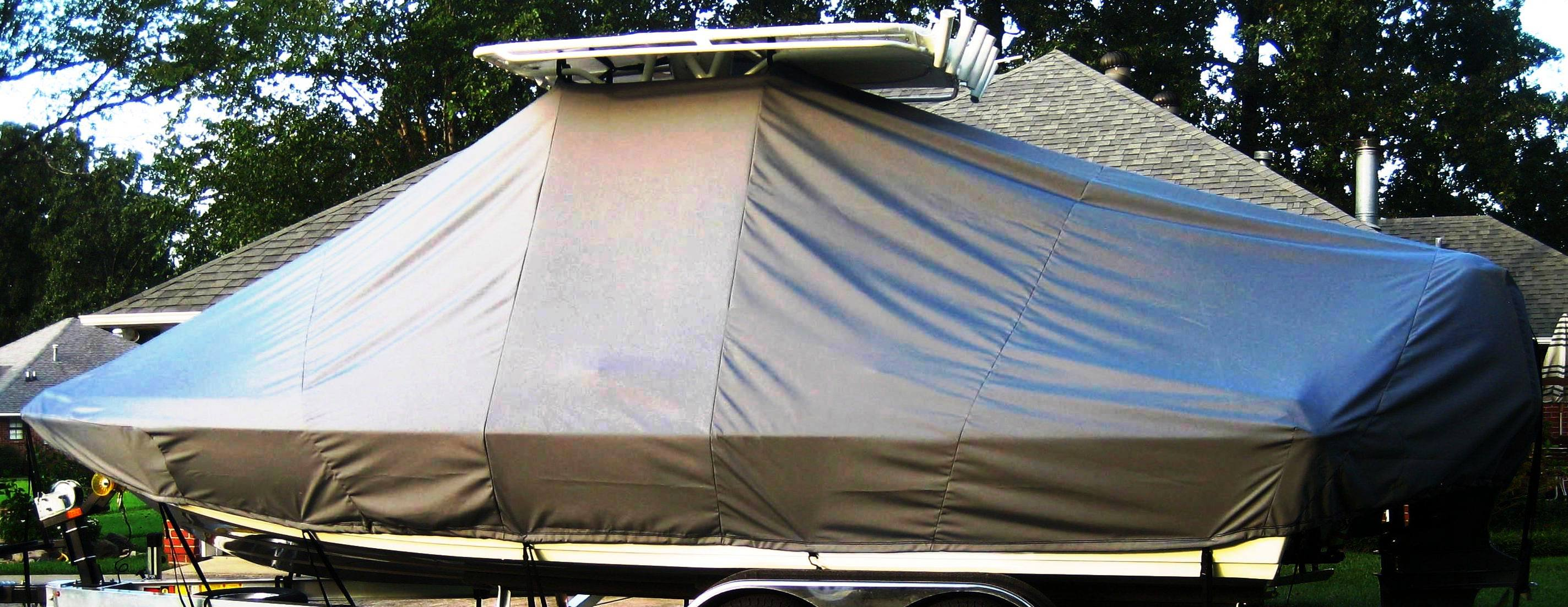 Skeeter SX 2250, 19xx, TTopCovers™ T-Top boat cover, starboard side