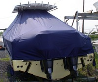 TTopCover™ Southport, 29cc, 20xx, T-Top Boat Cover, rear