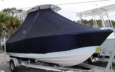 Sportsman 211, 20xx, TTopCovers™ T-Top boat cover, starboard front