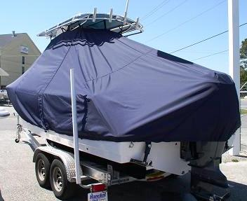 Sportsman 229 Heritage, 20xx, TTopCovers™ T-Top boat cover, port rear