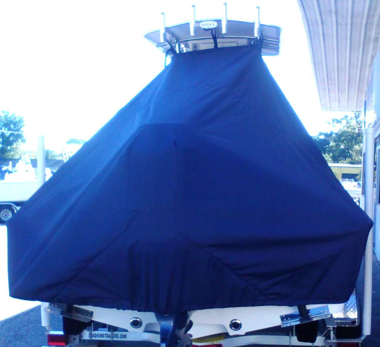 Sportsman Masters 207, 20xx, TTopCovers™ T-Top boat cover rear