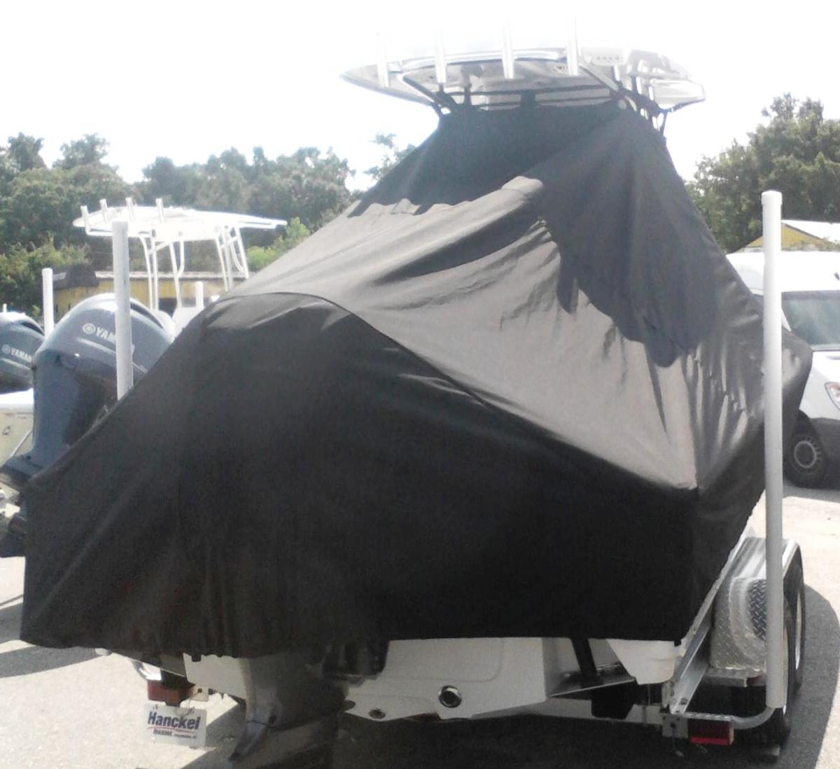 Sportsman Masters 247, 20xx, TTopCovers™ T-Top boat cover, starboard rear   Copy