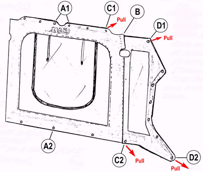 T-Top Spray-Shield Installation-Diagram