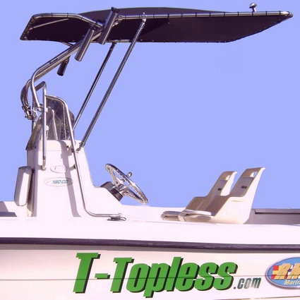T-Topless™ Gear Loft on Boat Picture