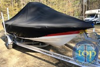 LaPortes™ Tidewater, 1900 Bay Max, 20xx, Boat Cover LCC, stbd front