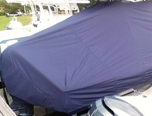 Tidewater 2200 Carolina Bay, 20xx, TTopCovers™ T-Top boat cover, starboard rear