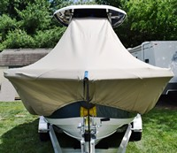 Photo of Tidewater® 220CC 20xx T-Top Boat-Cover, Front