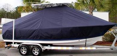 Triton 225CC, 20xx, TTopCovers™ T-Top boat cover, starboard side