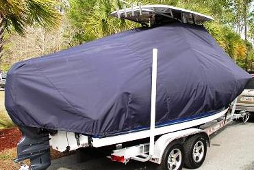 Triton 2286CC, 20xx, TTopCovers™ T-Top boat cover, starboard rear