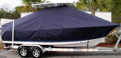 Triton 2286CC, 20xx, TTopCovers™ T-Top boat cover, starboard side