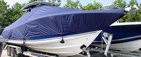 TTopCover™ Triton, 351CC, 20xx, T-Top Boat Cover, Sand Bags, stbd front