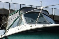Trophy, 2502 WA, 2004, Bimini Top, front Connector, Side Curtains, stbd front