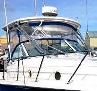 Trophy, 2902 WA, 2009, Hard Top, Connector, Side Curtains, Aft Drop Curtain, port rear