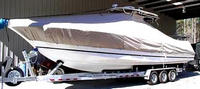 TTopCover™ Wellcraft, Scarab 35T, 20xx, T-Top Boat Cover, port front