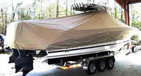 TTopCover™ Wellcraft, Scarab 35T, 20xx, T-Top Boat Cover, stbd rear