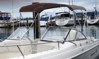 Wellcraft, Sportsman 220 Ameritex, 2008, Bimini Top, port front