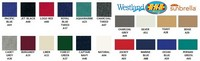 Westland® Sunbrella® colors