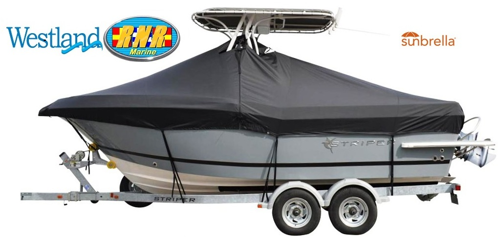 BLUE BOAT COVER FITS Bayliner 1850 Capri BR 1990 1991 1992 1993 1994 1995 1996