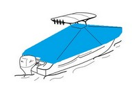Under-T-Top-Cover-Westland™Universal (non-OEM) Sunbrella(r) fabric Under T-Top Boat Cover