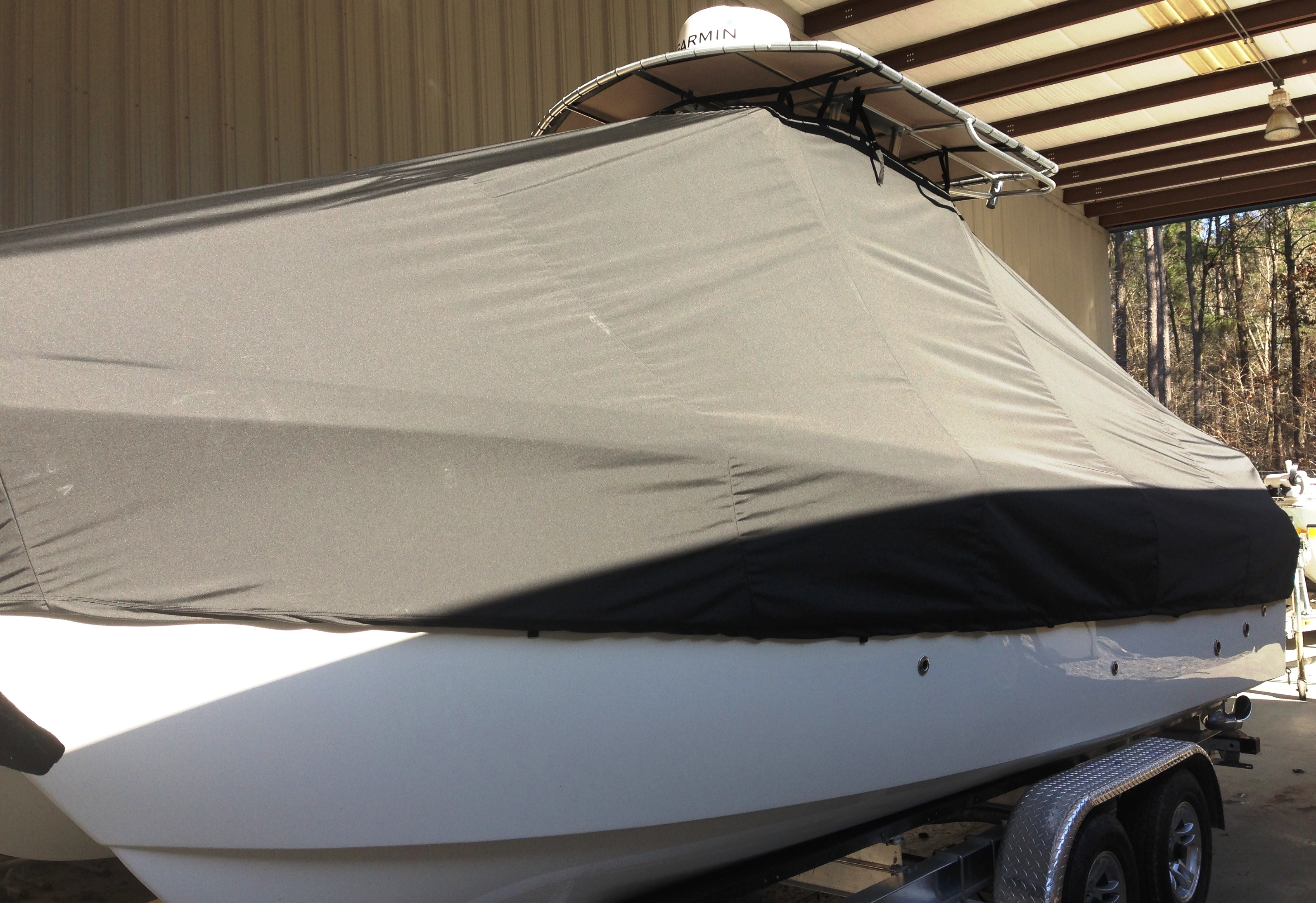 World Cat 230 CC, 20xx, TTopCovers™ T-Top boat cover, port side