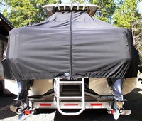 TTopCover™ World Cat, 320 DC, 20xx, T-Top Boat Cover, rear