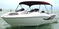 Yamaha, LS2000, 2001, Bimini Top, port front