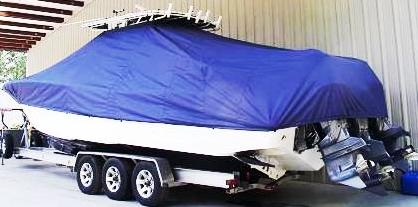 Yellowfin 34CC, 19xx, TTopCovers™ T-Top boat cover, port rear