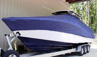 TTopCover™ Yellowfin, 34CC, 20xx, T-Top Boat Cover, port front