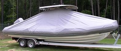 Zodiac 850 Sport, 20xx, TTopCovers™ T-Top boat cover, starboard side